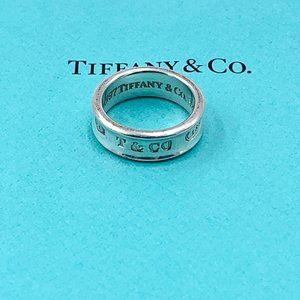 Authentic Tiffany & Co 1837 Ring Size 7.25 (7 1/4)